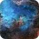 Melotte 15 in True wavelength colors,                                Thomas Edward Chr...