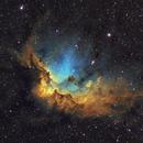 Wizard Nebula NGC7380 SHO,                                Bogdan Jarzyna