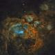 NGC 6357: The Lobster Nebula (SHO),                                Alexander Voigt