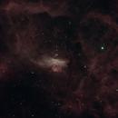 NGC 6357 in Ha Oiii,                                Freestar8n