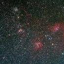 Auriga Treasure Trove - Flaming Star Nebula and Friends,                                Jim Stevenson