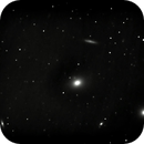 M 86 / M 84  (part of Markarian's Chain),                                Wanni