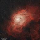 Lagoon Nebula (M8, NGC 6523),                                Sebastian Marchi