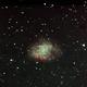 Crab Nebula (M1) - first try with f/10 C11,                                Trish Hamlin