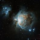 M42 plus M43, Unmodded DSLR,                                Blackwater Skies