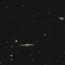NGC 5746 Edge-On Spiral Galaxy in Virgo,                                Elmiko