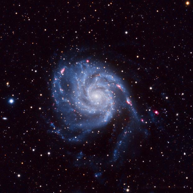 M101 - LHaRGB,                                basskep