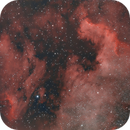 North American and Pelican nebulas,                                Tom's Pics