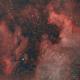 North American and Pelican nebulas,                                Tom's Pics