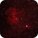 Caldwell 100 - IC2944 - Running Chicken or Lamda Centauri Nebula,                                Geoff Scott