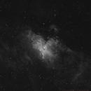 Ha Eagle Nebula, M 16,                                mihai