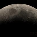Crescent Moon Mosaic,                                Marcos González Troyas