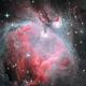 Great Orion Nebula (M42) - LHa-HGBO,                                Olivier Ravayrol