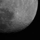 Earth's moon at 1200mm,                                Jason R Wait