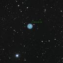 Owl Nebula (M97) LRGB crop (including Quasar J111504.4+550143),                                Pam Whitfield