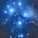 M45 The Pleiades,                                William Burns