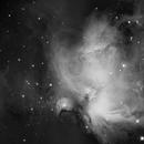 The Great Orion Nebula - Mosaic - Luminance,                                Salvopa