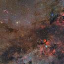 NGC7000, IC 5070, Veil Nebula, Sadr, NGC 6888,                                Gregory