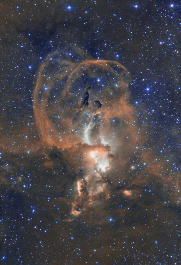 NGC3579 Bi-colour,                                Richard Muhlack