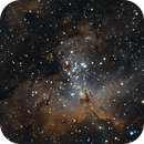 Messier 16,                                Steven Gill (Parkesburg Observatory)