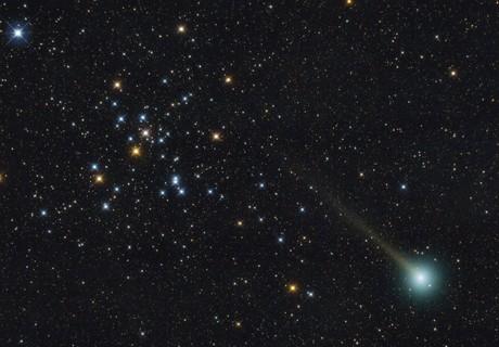 Comet C/2019 U6 and M41.,                                Adriano