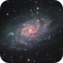 The Triangulum Galaxy - Full Field - version2,                                Arnaud Peel