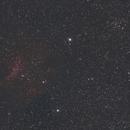 NGC 7261 open cluster plus Sh2 - 135 emission Nebula,                                Richard H