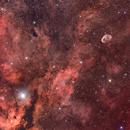Crescent Nebula Wide Field Mosaic,                                Centenojoel