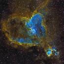 IC-1805 Heart Nebula in Narrowband Color,                                Eddie_R