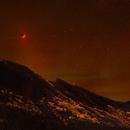Super Blood Moon Lunar Eclipse Nightscape 2015,                                Roger Clark
