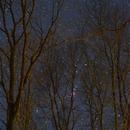 Startrails of Orion,                                JDJ