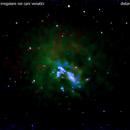 ngc4395  galassia nei cani venatici                                  distanza 14 milioni  A.L.,                                Carlo Colombo