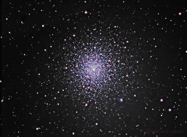 M 92 Globular Cluster,                                Bob Gillette
