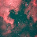 Pelican and North America Nebula,                                Lancelot365
