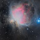 Orion Nebula,                                diurnal