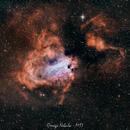 Omega Nebula - M17,                                Massimo Di Fusco