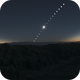 Composite of Total Solar Eclipse of July 2nd 2019,                                luter68