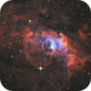 NGC 7635 Bubble Nebula in SHO,                                Roland Schliessus