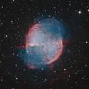 M 27 Dumbbell nebula,                                Jeffbax Velocicaptor