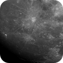 Moon by a small 4 inch refractor,                                sunirshines