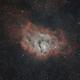 Lagoon Nebula,                                Laurence Pap