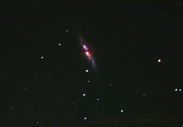 Messier 82,                                Silkanni Forrer