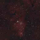 SH2-273 Cone Nebula, Foxfur Region - Late Season, Bortle 8, 40 Min,                                psychwolf