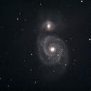 The Whirlpool Galaxy - M51,                                Corey Rueckheim