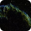 NGC 6992 - Hexenhand - Hubblepalette,                                Steffen Ledwig