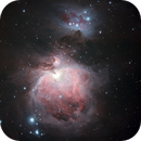 M 42 The Great Orion Nebula in OSC,                                Alan Brunelle