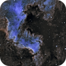 NGC7000 in Ha + OIII,                                jijc76