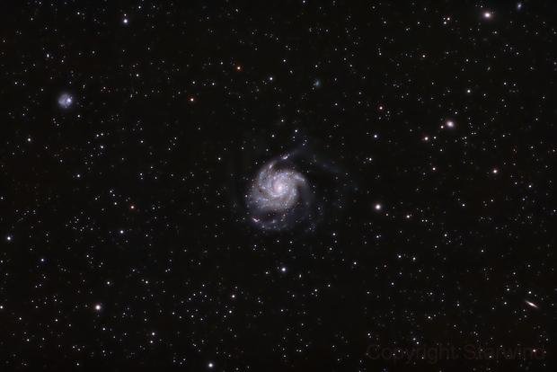 M101 - The Pinwheel Galaxy,                                Arvind H.