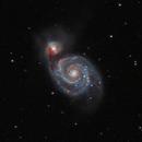 M51 with IDAS LPS V4,                                oymd