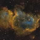 IC 1848 The Soul Nebula in Narrowband,                                Eshan Toorabally